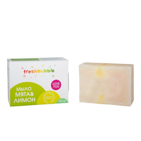 Универсальное мыло Мята и Лимон FRESHBUBBLE