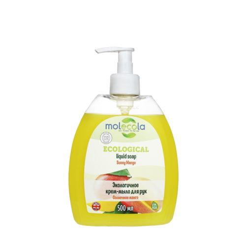 Крем-мыло для рук Солнечное манго MOLECOLA