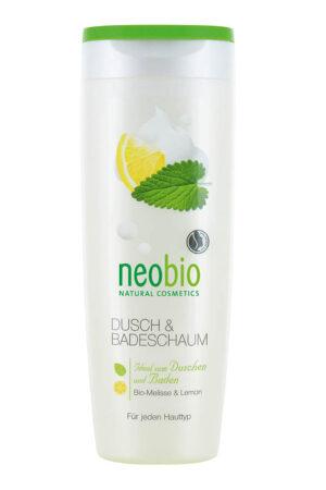 Пена для душа и ванны Мелисса и лимон NEOBIO