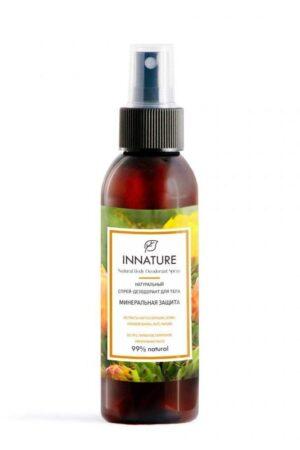 Спрей-дезодорант для тела Минеральная защита INNATURE