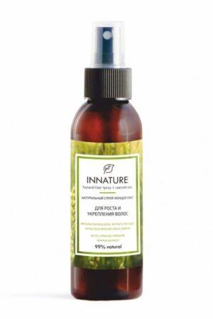 Спрей-концентрат для роста и укрепления волос INNATURE