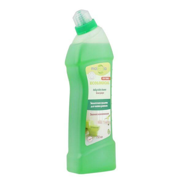 Средство для чистки унитазов и сантехники Зеленый можжевельник MOLECOLA