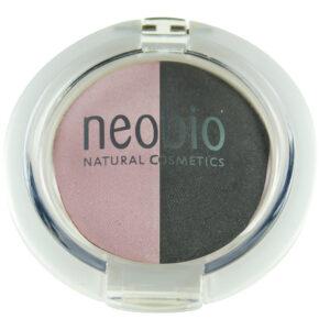 Тени для век двойные 01 Розовый бриллиант NEOBIO