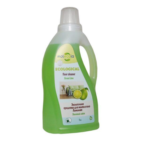 Универсальное средство для мытья пола Ламинат Зеленый лайм MOLECOLA