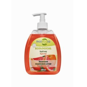 Жидкое мыло для рук Королевский апельсин MOLECOLA