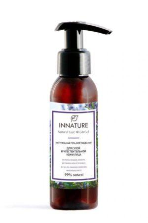 Гель для умывания для сухой и чувствительной кожи INNATURE