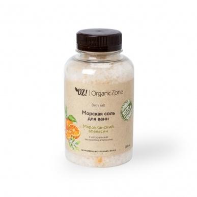 Соль для ванны Марокканский апельсин ORGANIC ZONE