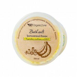 Соль для ванны Тропический банан ORGANIC ZONE