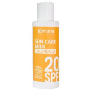 Солнцезащитное молочко для лица и тела Календула SPF 20 LEVRANA