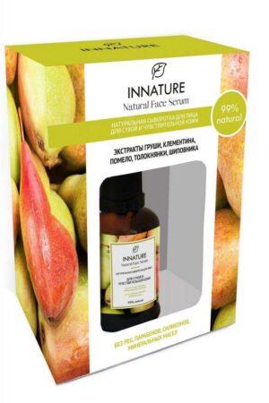 Сыворотка для лица для сухой и чувствительной кожи INNATURE