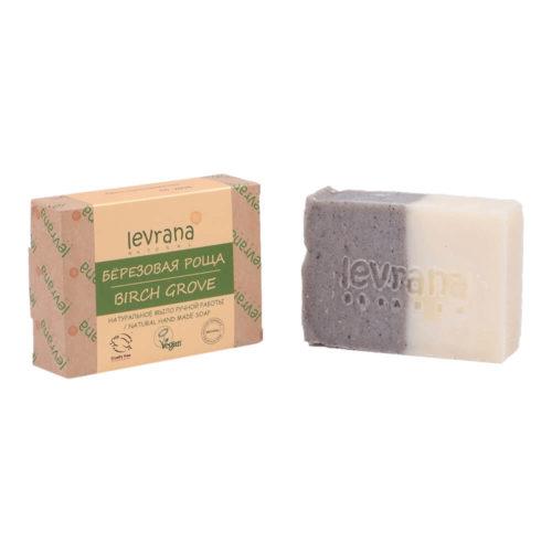 Натуральное мыло Березовая роща LEVRANA