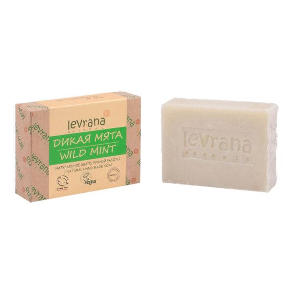 Натуральное мыло Дикая мята LEVRANA