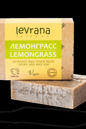 Натуральное мыло Лемонграсс LEVRANA