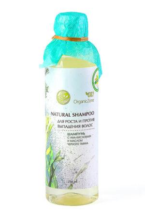 Шампунь с АНА-кислотами Для роста и против выпадения волос ORGANIC ZONE