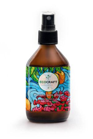 Спрей для роста волос Манго и розовый имбирь ECOCRAFT