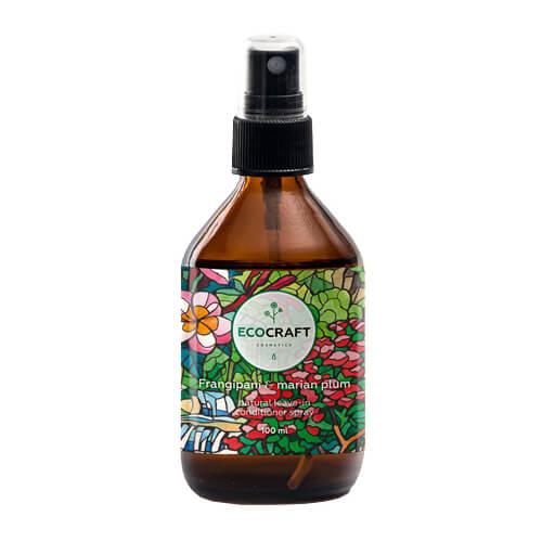 Спрей для волос термозащитный Франжипани и марианская слива ECOCRAFT