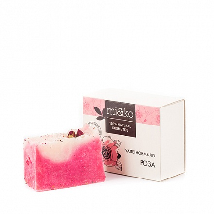 Туалетное мыло Роза MIKO