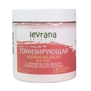 Альгинатная маска Тонизирующая LEVRANA, 500мл