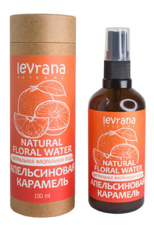 Флоральная вода Апельсиновая карамель LEVRANA