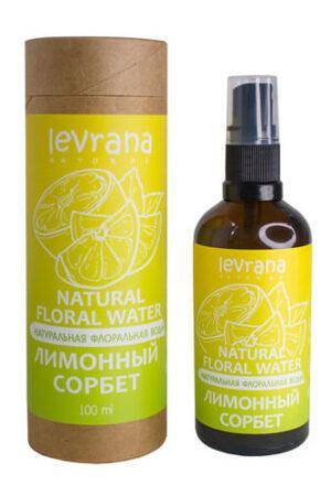 Флоральная вода Лимонный сорбет LEVRANA