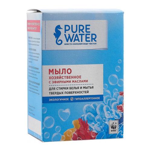 Хозяйственное мыло Pure Water с эфирными маслами MIKO