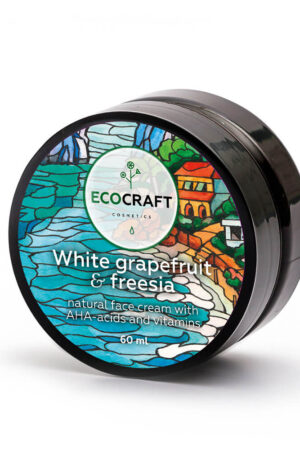 Крем для лица для жирной кожи Белый грейпфрут и фрезия ECOCRAFT