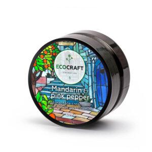 Крем для сухой и чувствительной кожи Мандарин и розовый перец ECOCRAFT