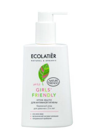 Крем-мыло для интимной гигиены Girls' Friendly ECOLATIER
