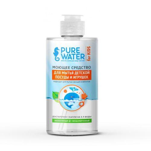 Моющее средство для мытья детской посуды Pure Water MIKO