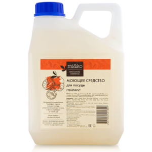 Моющее средство Грейпфрут для посуды MIKO, 4л
