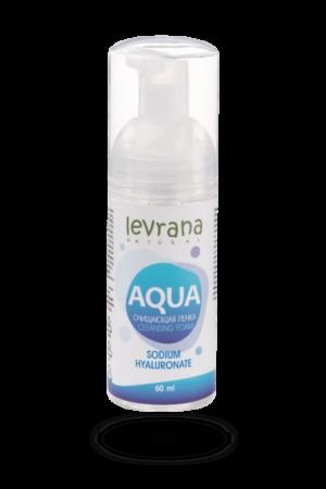 Пенка для умывания Aqua LEVRANA, 60 мл
