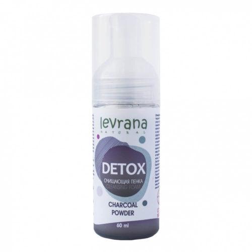 Пенка для умывания Detox LEVRANA, 60 мл
