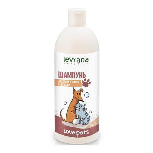 Шампунь для собак и кошек всех пород LEVRANA