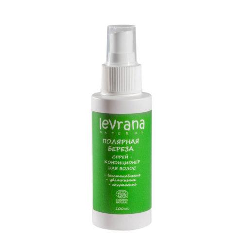 Спрей-кондиционер для волос Полярная Берёза LEVRANA, 100мл