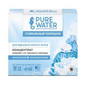 Стиральный порошок для белого белья Pure Water MIKO