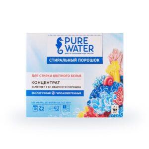 Стиральный порошок для цветного белья Pure Water MIKO