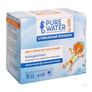 Стиральный порошок для детского белья Pure Water MIKO