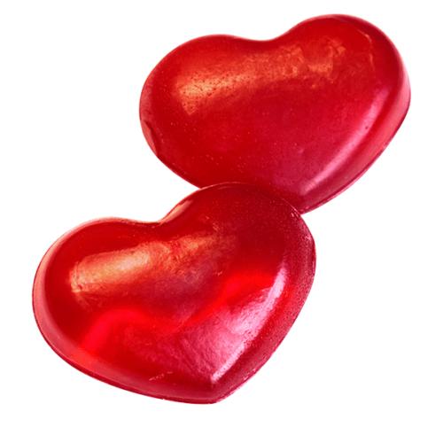 Туалетное мыло Клюквенное «Сердце» MIKO