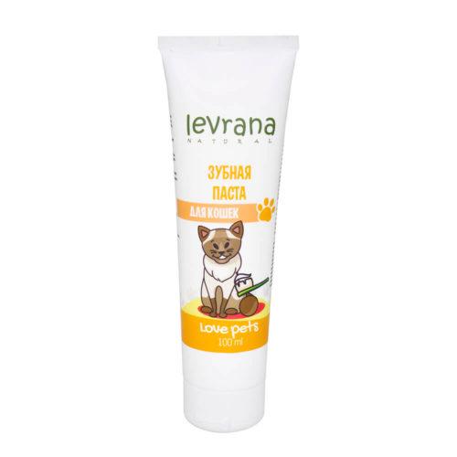 Зубная паста для кошек LEVRANA