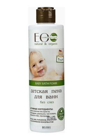 Детская пена для ванн Без слез ECOLAB