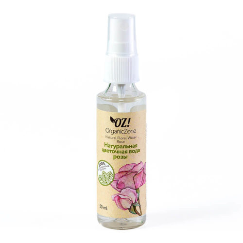 Цветочная вода Розы ORGANIC ZONE