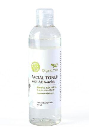 Тоник для лица с АНА-кислотами с лифтинг-эффектом ORGANIC ZONE