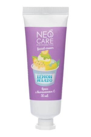 Крем для лица с витамином с Lemon jelato NEO CARE
