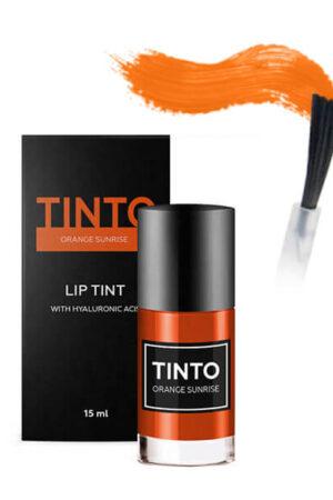 Тинт для губ Orange sunrise TINTO
