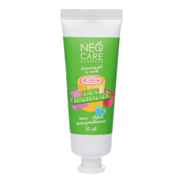 Гель-скраб для умывания Lady marmalade NEO CARE (срок до 18.01.22г)