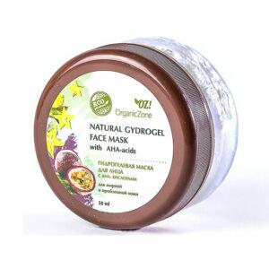 Гидрогелевая маска с АНА-кислотами для жирной и проблемной кожи лица ORGANIC ZONE