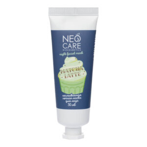Маска для лица несмываемая ночная Matcha latte NEO CARE
