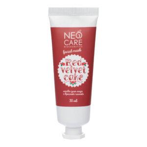 Маска для лица с красной глиной Red velvet cake NEO CARE