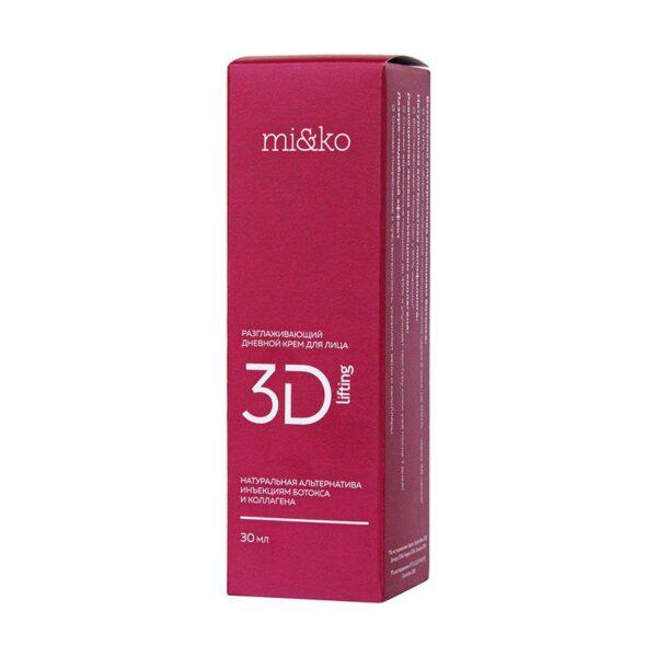 Крем для лица разглаживающий дневной 3D-Lifting MIKO