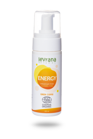 Пенка для умывания Energy LEVRANA